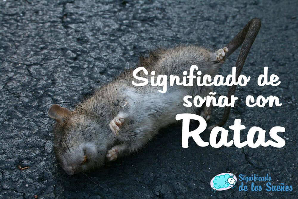 Significado de soñar con ratas muertas