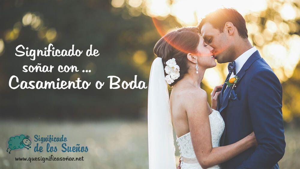 Que significa soñar con casamiento o boda