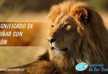 Soñar con un león o leones