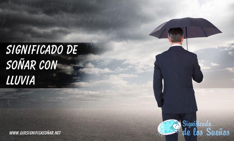 Soñar con lluvia